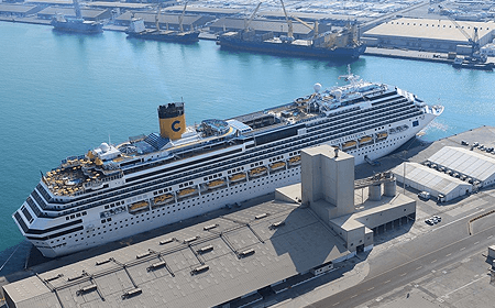 Abu Dhabi Cruise Port Abu Dhabi UAE