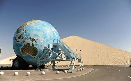 Emirates National Auto Museum Abu Dhabi UAE