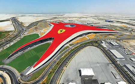 Ferrari World Abu Dhabi Abu Dhabi UAE