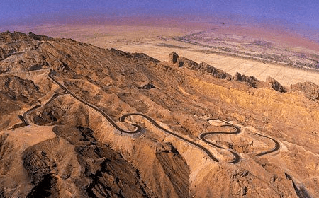Jebel Hafeet Mountain Abu Dhabi UAE
