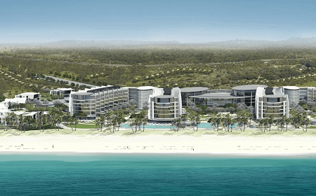 Saadiyat Island Abu Dhabi UAE