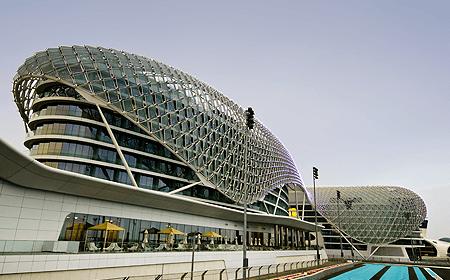 Yas Island Marina Circuit Abu Dhabi UAE
