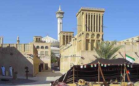 Al Bastakiya Area Dubai UAE
