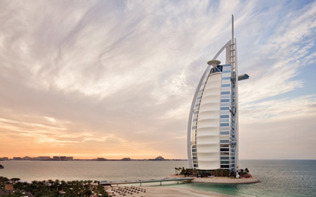 The Tower of Arabs (Burj Al Arab) Dubai UAE