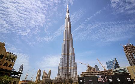 The Burj Khalifa Dubai UAE