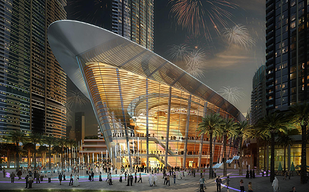 Dubai Opera Dubai UAE