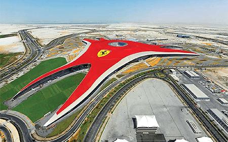 Ferrari World (Yas Island) Dubai UAE