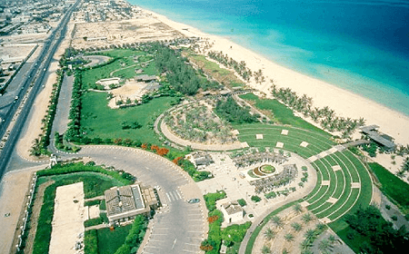Jumeira Beach and Park Dubai UAE