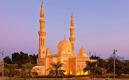 Jumeirah Mosque Dubai UAE