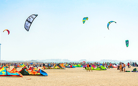 Kite Beach Dubai UAE
