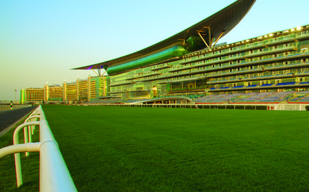 Meydan Grandstand and Racecourse Dubai UAE