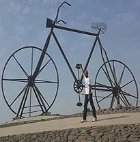Bicycle Square (Midan Addarajah) Jeddah Saudi Arabia