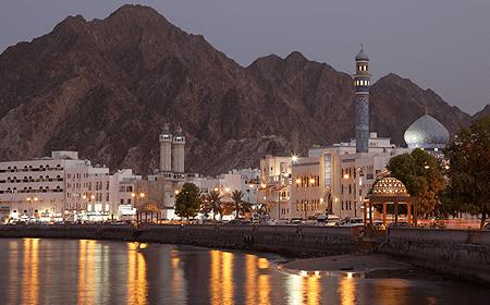 Corniche Muttrah Muscat Oman