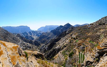 Jebel Akhdar Muscat Oman