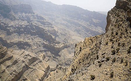 Jebel Shams (Sun Mountain) Muscat Oman