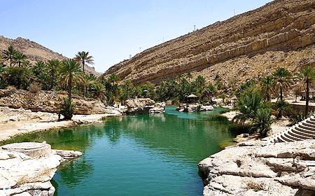 Wadi Bani Khalid Muscat Oman