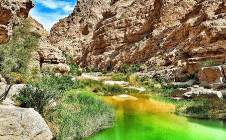 Wadi Shab Muscat Oman