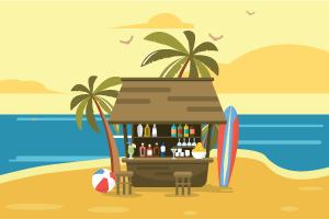 Beach Bar دبي الإمارات العربية المتحدة