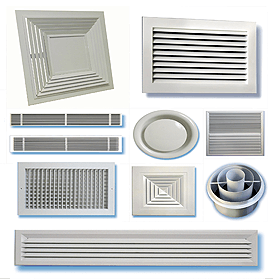 Air Conditioning Diffusers Abu Dhabi UAE